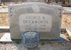 George W Duckworth