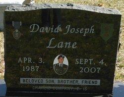 Spec David Joseph Lane