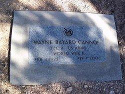Wayne Bayard Cannon