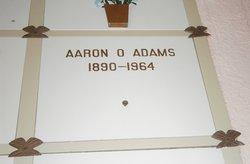 Aaron O Adams