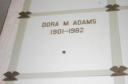 Dora M Adams