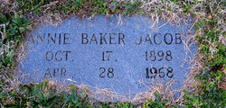 Annie <i>Jacobs</i> Baker