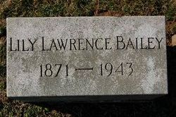Lily <i>Lawrence</i> Bailey