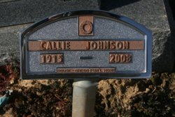 Callie <i>Gill</i> Johnson