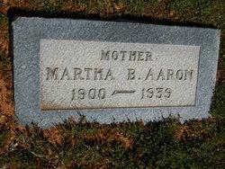 Martha Beulah <i>Aaron</i> Aaron