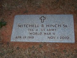 Mitchell R. Mickey Hinch, Sr