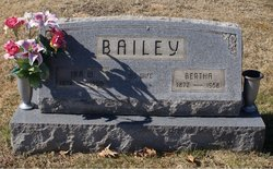 Bertha <i>Butcher</i> Bailey