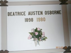 Beatrice <i>Austen</i> Osborne
