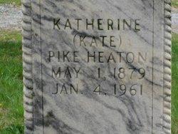 Katherine Pike Kate <i>Mears</i> Heaton