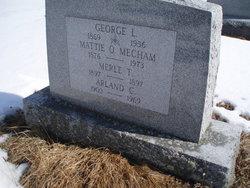 Mattie Olive <i>Meacham</i> Beadle