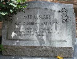 Fred G Blake