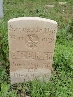 Elizabeth Betsy <i>Barrow</i> Barber