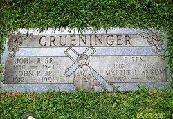 Myrtle Louise <i>Grueninger</i> Anson
