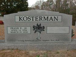 Frank Eugene Kosterman, Jr