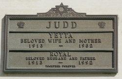 Royal A. <i>Judelowitz</i> Judd