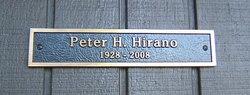 Peter Hideo Hirano