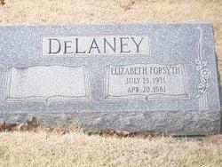 Elizabeth <i>Forsyth</i> Delaney