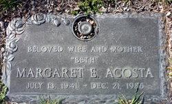 Margaret E Acosta