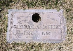 Gertrude Alma <i>Newton</i> Sanders