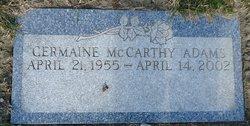 Germaine <i>McCarthy</i> Adams
