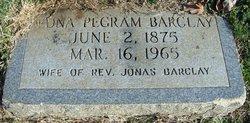 Edna <i>Pegram</i> Barclay