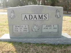 Jewell Estella <i>Jones</i> Adams