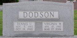 Virginia Ethel <i>Wray</i> Dodson