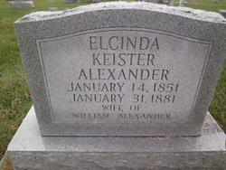Elcinda <i>Keister</i> Alexander