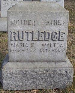 Maria E. Rutledge