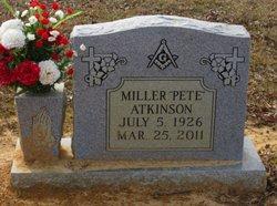 Miller Pete Atkinson