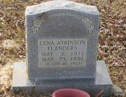 Lena <i>Atkinson</i> Flanders