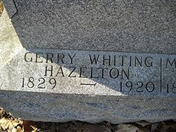 Gerry Whiting Hazelton