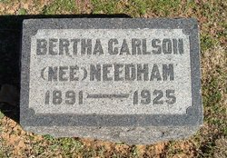Bertha <i>Needham</i> Carlson