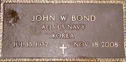 John Willard Johnny Bond, Sr