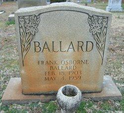 Frank Osborne Ballard