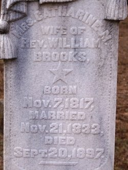 Catherine Matilda <i>Clonts</i> Brooks