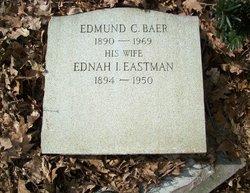 Ednah I <i>Eastman</i> Baer