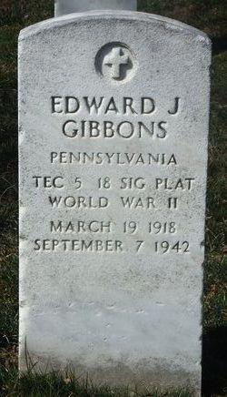 Edward J Gibbons