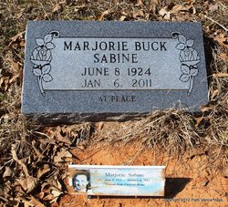 Marjorie <i>Buck</i> Sabine