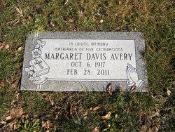 Margaret <i>Davis</i> Avery