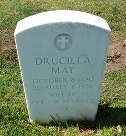 Drucilla May <i>Parker</i> Beauvais