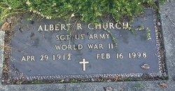 Albert R Church