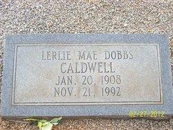 Lerlie Mae <i>Dobbs</i> Caldwell