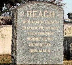 Jennie <i>Reach</i> Lewis