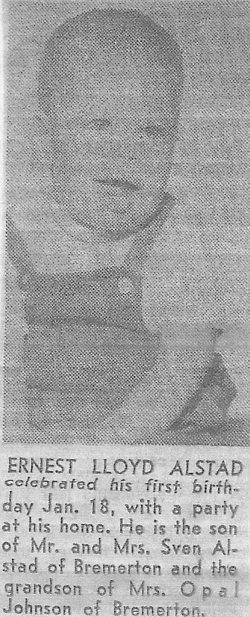 Ernest Lloyd Ernie Alstad