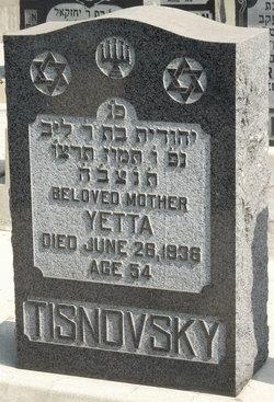 Yetta Tisnovsky