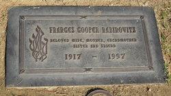 Frances H <i>Cooper</i> Rabinovitz