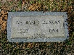 Iva L. <i>Baker</i> Duncan