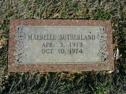 Mae Belle <i>Baker</i> Sutherland