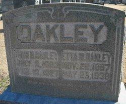 Etta <i>Pillow</i> Oakley